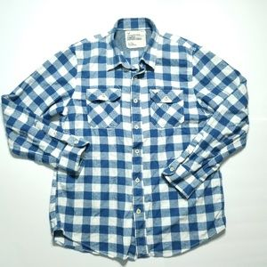 American Eagle Outfitters Plaid Button Shirt